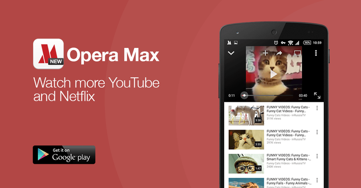 Opera Max Now Supports Data Compression For Netflix And YouTube Video