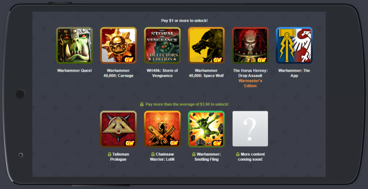 The Humble 'Games Workshop' Mobile Bundle Offers 9 Games (Including Lots Of Warhammer) For One Low Price With More On The Way