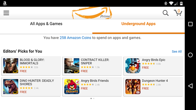 Amazon Ditches Its Free App Of The Day In Favor of Amazon Underground, With '$10,000 Worth of Apps And Games That Are Actually Free'