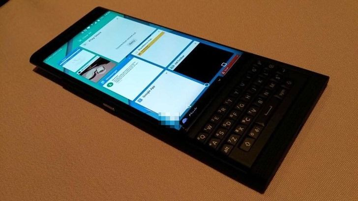 "BlackBerry's Rumored Venice Android Slider Could Be Officially Called ""Priv"""