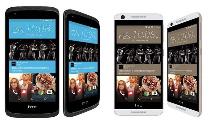 HTC Desire 526 and Desire 626 Announced For Verizon, Coming Tomorrow And 'In The Coming Weeks' Respectively