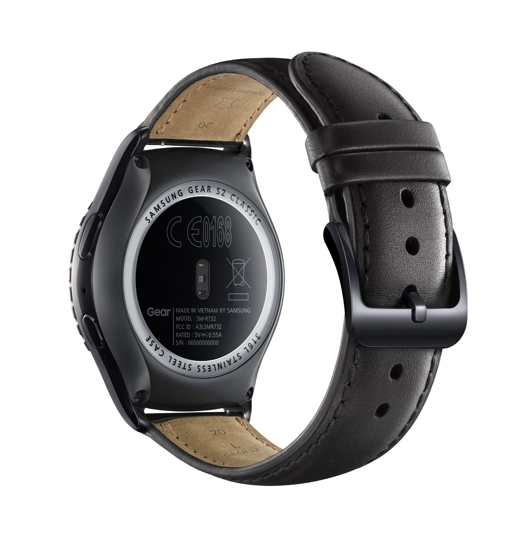 Gear S2 Classic back