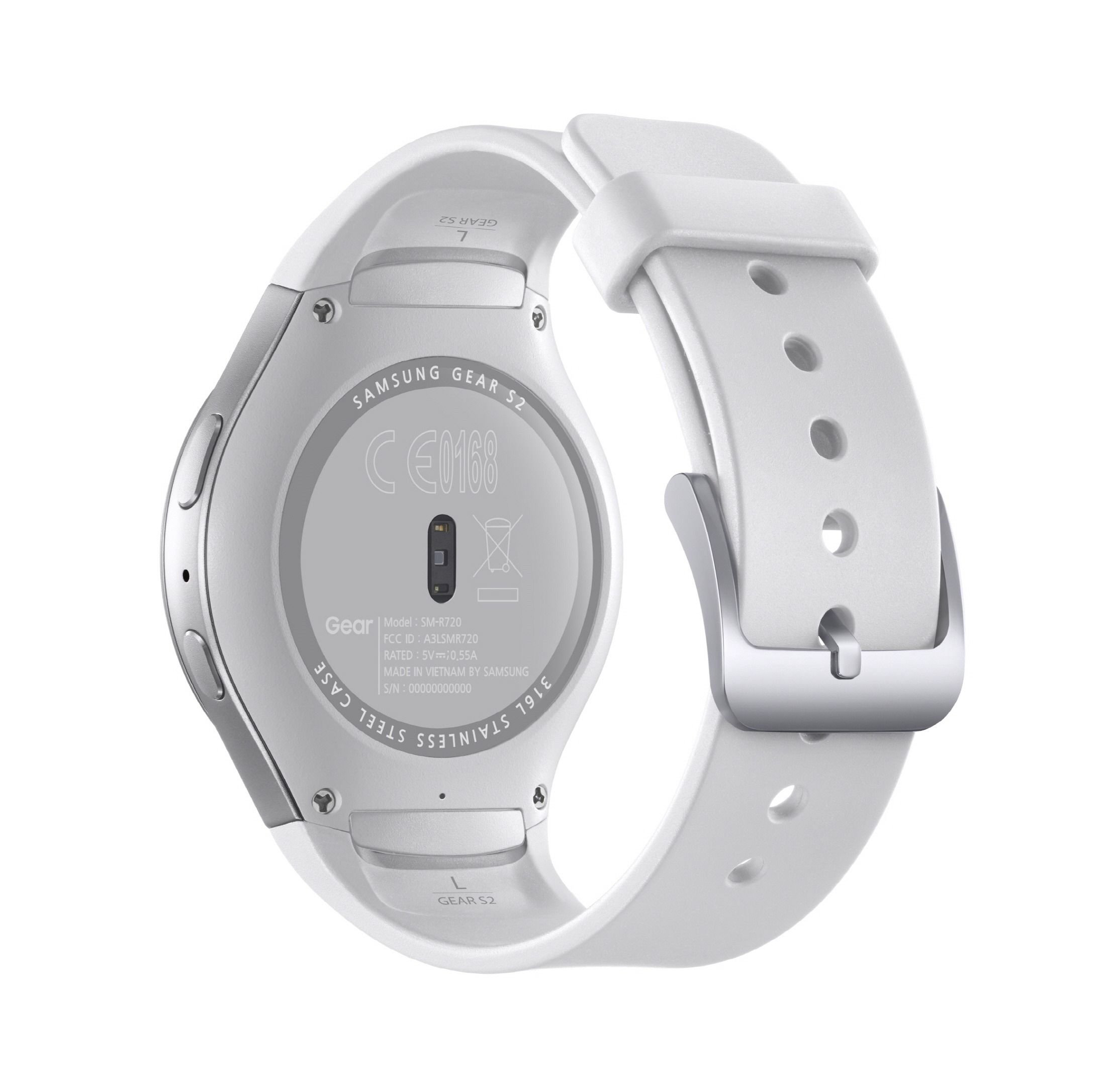 Gear S2_White back