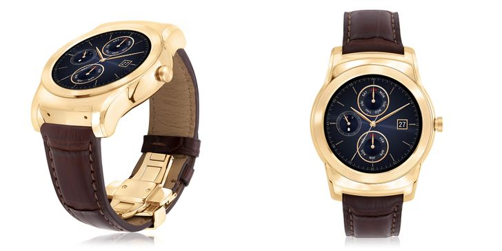 The LG Watch Urbane Luxe Is A Ridiculous $1200 Version Of The Regular Urbane