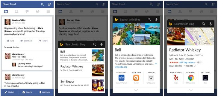 The Bing App's New 'Snapshots' Feature Is Like Google Now On-Tap But Different