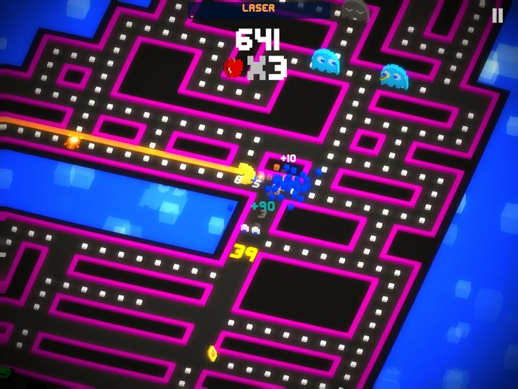 Pac-Man 256 Is Live In The Play Store With Tons Of Power Ups, Controller Support, And A Not-Terrible IAP Scheme