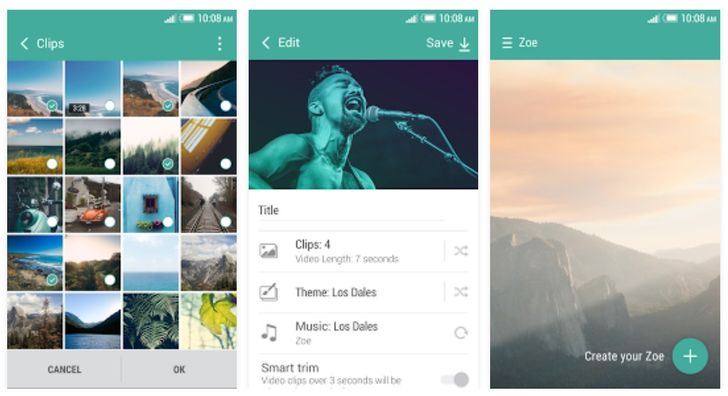 HTC Zoe 2.0 Lets You Create Videos On Your Phone Without Uploading First, Expands Length To 3 Minutes, And More