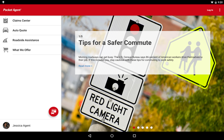 State Farm's Pocket Agent Android App Goes Material In Latest Update