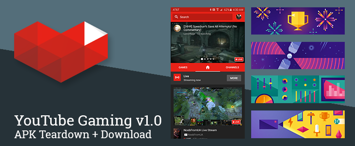 YouTube Gaming v1.0 Rolls Out With Asteroids Easter Egg And Evidence Of Upcoming Screencasting Support [APK Teardown + Download]