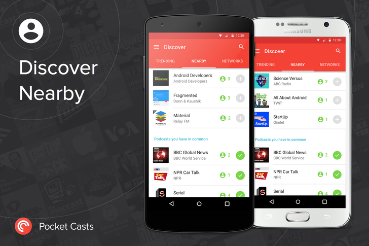 Pocket Casts Updated To v5.2 With Podcast Discovery Powered By Google's Nearby API