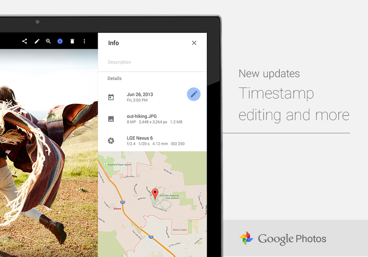 Google Photos Now Lets You Manually Edit Timestamps And Reorder Album Photos On The Web