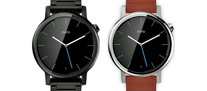 @evleaks Shares Renders Of Revamped Moto 360 With Metal And Leather Bands