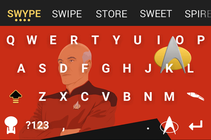 Swype Updated To v2.0 With Improved Auto-Correct, Emoji Keyboard, And A Theme Store Featuring Star Trek