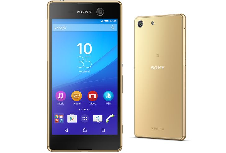 Sony Announces The 'Super Mid-Range' Xperia M5 With 21.5MP Hybrid Autofocus Camera