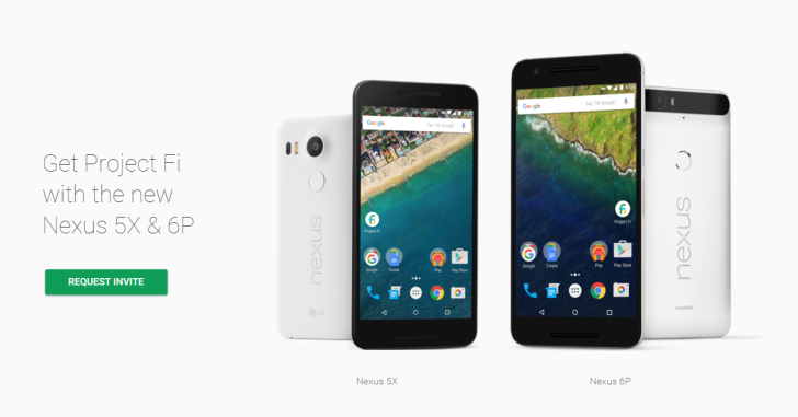 [Update: Installment Pricing] The Nexus 5X And Nexus 6P Are Compatible With Project Fi And All Major US Carriers