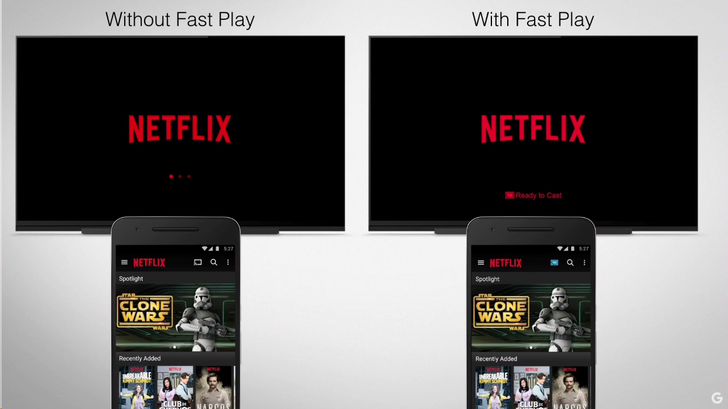 The New Chromecast Supports 'Fast Play' Preloading For a Quicker Streaming Experience