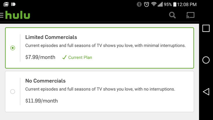 Hulu Announces A More Expensive Commercial-Free Streaming Tier