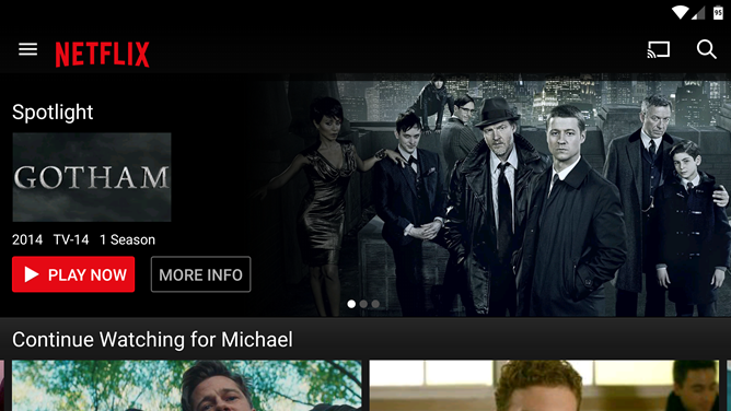 Netflix Android App Updated With Chromecast Fast Play Support [Update: Or Not]