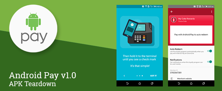 Android Pay v1.0 Can Auto-Redeem Some Loyalty Programs And Special Offers When You Tap To Pay [APK Teardown]
