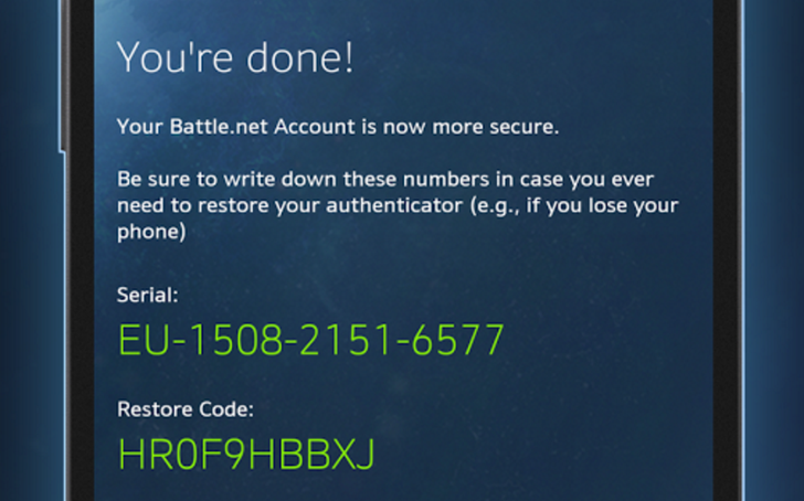 Blizzard Gives Battle.net Authenticator A Much Needed Visual Revamp In Version 2.0