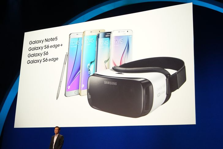 Samsung And Oculus Unveil New $99 Gear VR With Support For All 2015 Samsung Flagships