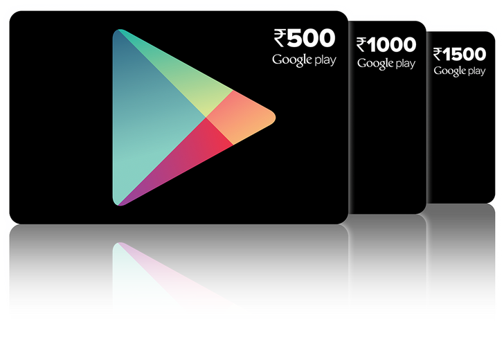Google Play Gift Cards Now Arriving In Stores Across India