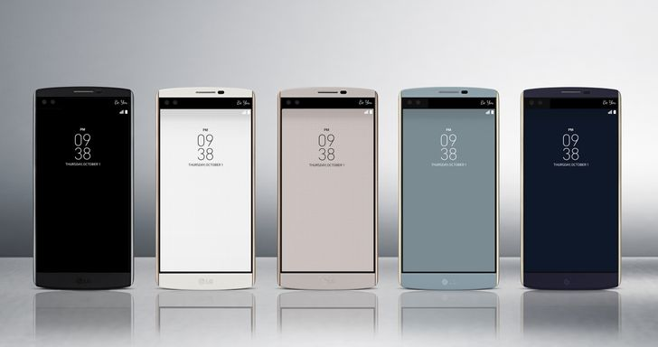 LG Announces The V10 With Dual Front-Facing Cameras, Manual Video Capture, And Secondary Display (Updated With Carrier Info)