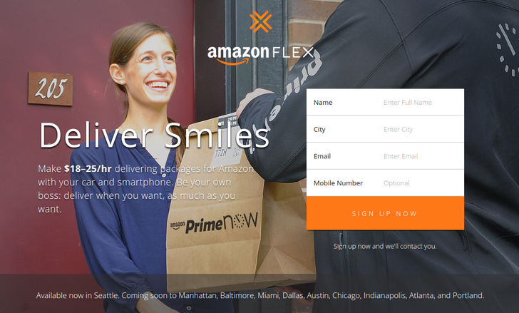 Amazon Is Ready To Uberize Your Package Delivery With Amazon Flex