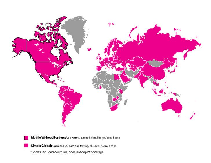 T-Mobile Expands Simple Global Coverage To 20 More Countries And Destinations