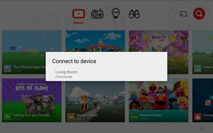 YouTube Kids Gets Chromecast Support And Custom Passcodes To Block Kids That Know How To Read