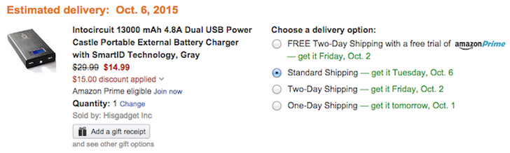 [Deal Alert] Intocircuit 13000mAh Dual-USB External Battery Is Only $14.99 After $15 Coupon On Amazon