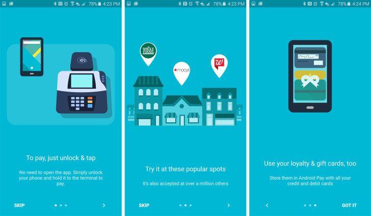 Layanan Android Pay sudah mulai dioperasikan oleh Google