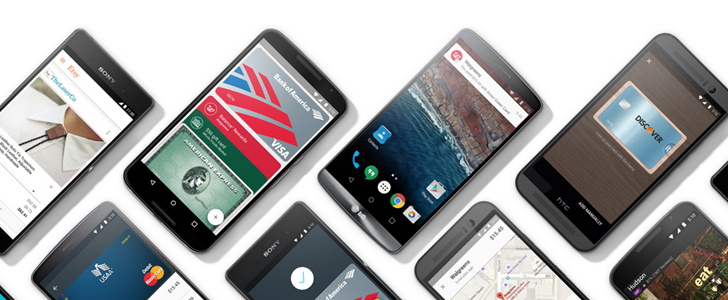 Yet another 72 US banks get support for Android Pay