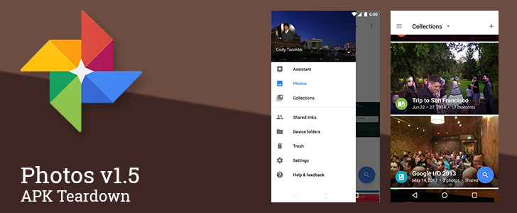 Photos v1.5 Points To Collaborative Album Editing, Naming People In Photos, And Impending Chromecast Support [APK Teardown]