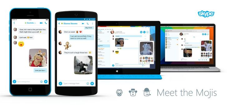 [Update: A Few Feature Tweaks Too] Skype Announces Animated 'Mojis' With The Muppets, Despicable Me, And More