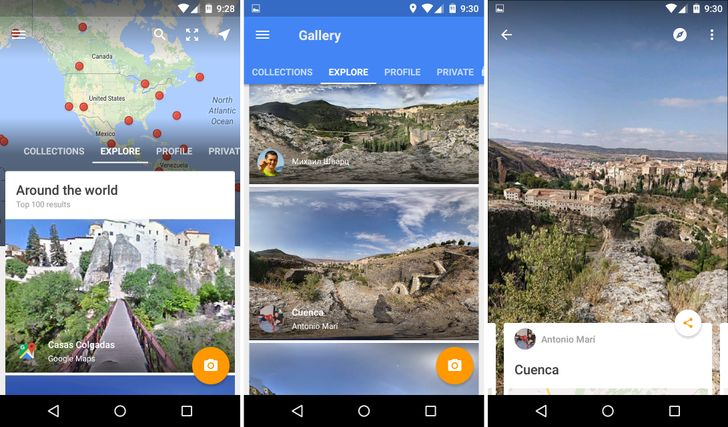 Google Street View Becomes A Full App In v2.0 With Support For Spherical Cameras, Photosphere Sharing, And More [APK Download]