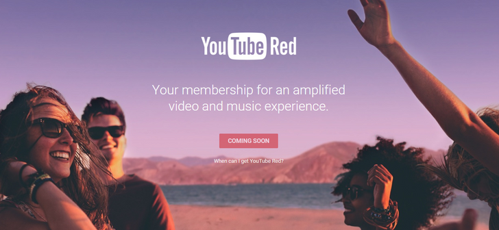 Ad-Free 'YouTube Red' Launching In The US On October 28th For $9.99 With Free Play Music Subscription [Update]