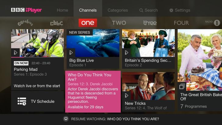 BBC And NVIDIA Release An iPlayer App Exclusively For SHIELD Android TV Owners In The UK