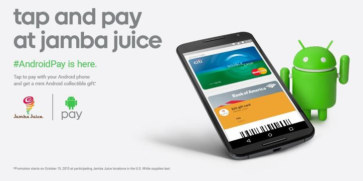 Jamba Juice Is Giving Out Free Android Mini Figurines If You Use Android Pay