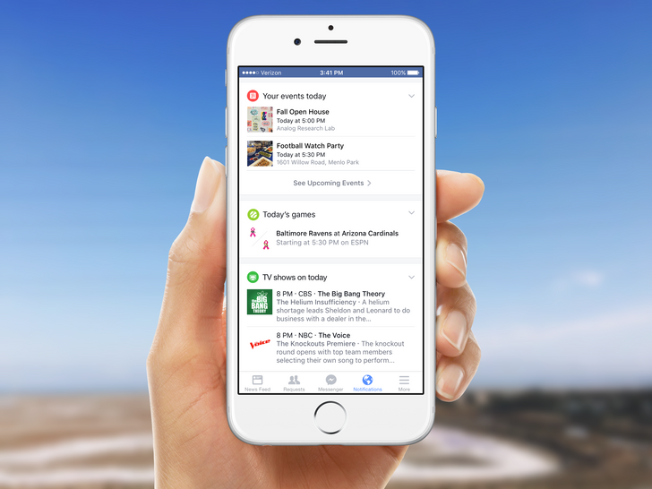 Facebook Is Rolling Out A New Notification Tab With More Personalized Info
