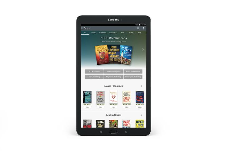 "Barnes & Noble And Samsung Introduce A $250 9.6"" Nook Based On The Galaxy Tab E"