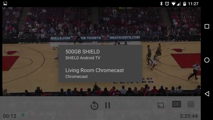 NBA GameTime App Completely Redesigned For The 2015-2016 Season, Finally Gets Chromecast Support