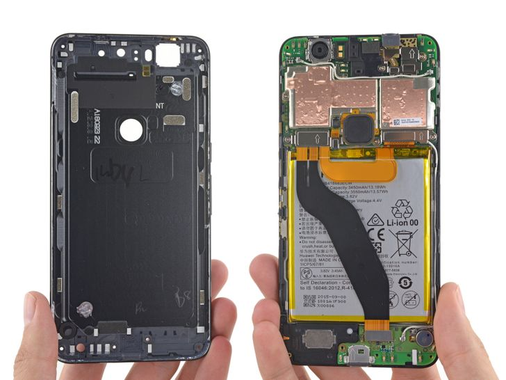 The Nexus 6P Gets A Measly 2 Out Of 10 For Repairability From iFixit