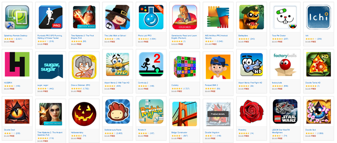 The Amazon Appstore Offers 33 Free Apps And Games Worth $70+ For Halloween