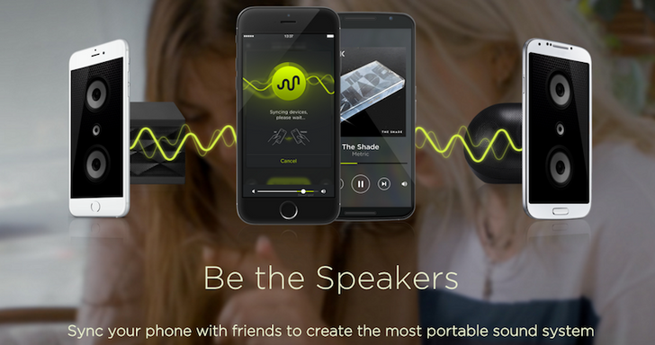 AmpMe Turns Multiple Phones Into Speakers For Your Music: How It Works And How It Compares To SoundSeeder