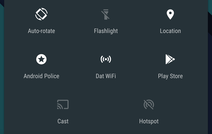[Hands On] Custom Quick Settings Adds New Tiles To The Android 6.0 Quick Settings Via UI Tuner