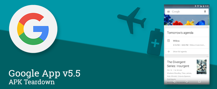 Google App v5.5 Beta Points To Upcoming Support For Chrome Custom Tabs, Concert Tickets, And New Status Cards [APK Teardown]