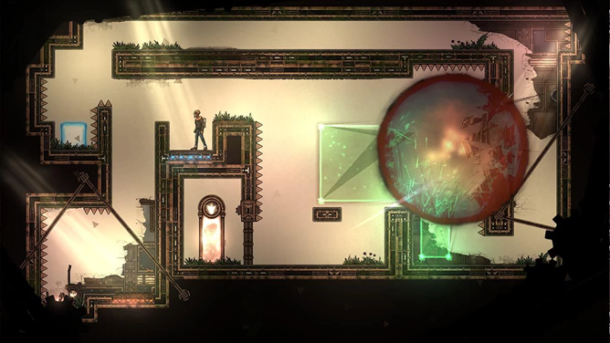 Gravity-Defying Puzzle Game 'In Between' Has Fantastic Hand-Drawn Art And Animation