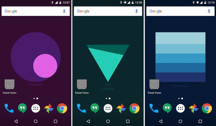 Google Creative Lab Releases The 'Meter' Live Wallpaper For Real-Time Stats On Your Homescreen