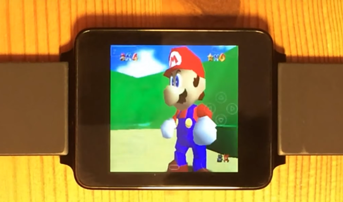 Mad Genius Coaxes Android Wear Into Running Nintendo 64 And PlayStation Portable Game Emulators